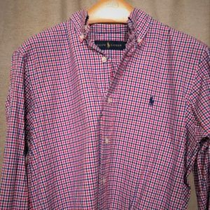Ralph Lauren Button Down Mens Shirt Size S